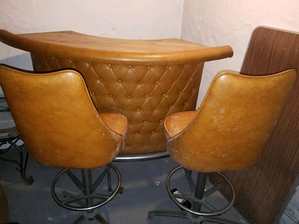 Retro Basement Bar With 2 Stools For Sale In Bel Air Md Offerup