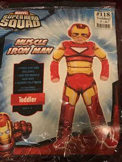 Toddler Muscle Iron Man Thumbnail