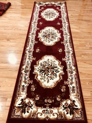 Brand new carpet runner size 3x10 nice red hallway runners rug for Sale in Burke, VA