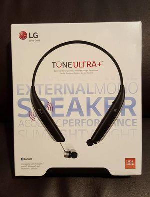 LG Tone Ultra+ plus JBL Bluetooth Wireless headphones headsets earphones audifonos Black EXTERNAL SPEAKER! $70 NO LESS for Sale in Los Angeles, CA