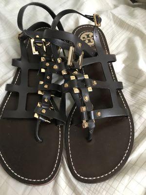 tory burch gladiator sandals for Sale in Alexandria, VA