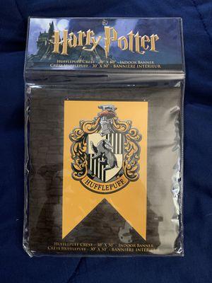 Harry Potter Hufflepuff Banner for Sale in Las Vegas, NV