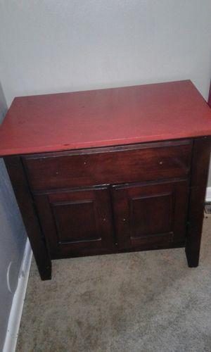 Wooden nightstand for Sale in Manassas, VA