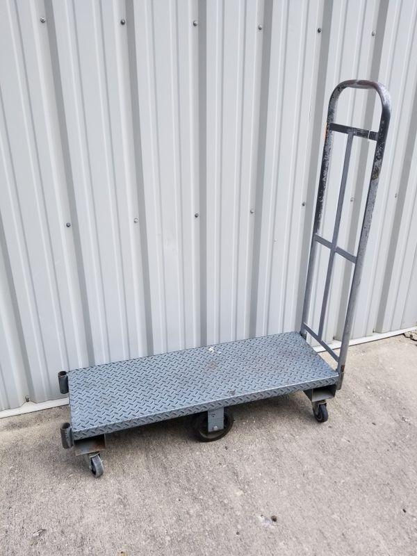 Steel platform cart / truck / U-Boat / L-Boat for Sale in Dayton, OH -  OfferUp