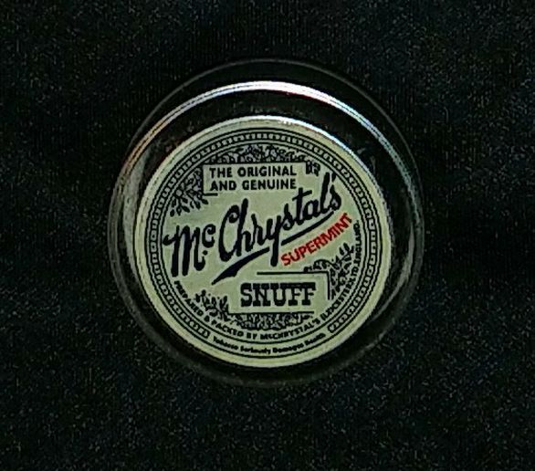 Mc Chrystal's 1926 Snuff Can