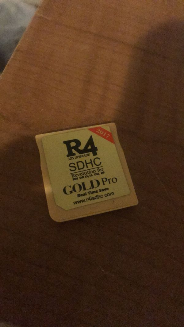 R4 Sdhc Revolution For 3ds