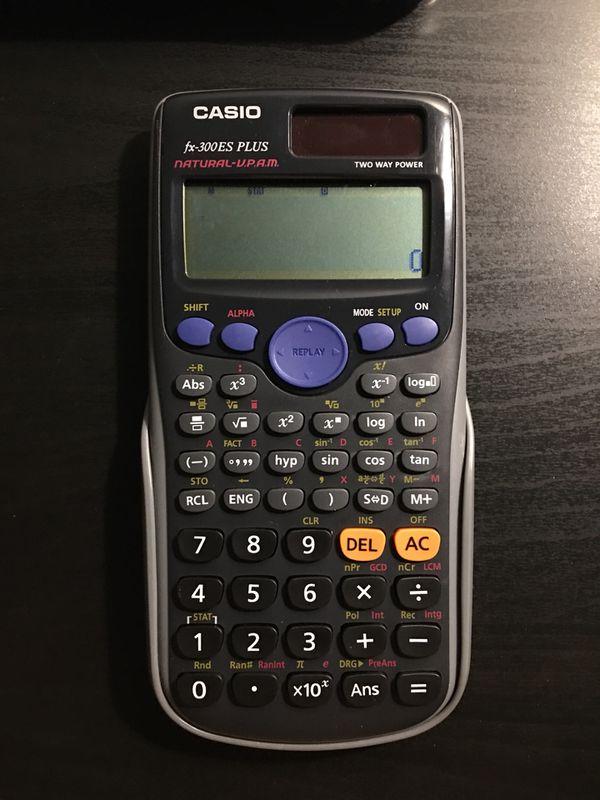 CASIO Fx-300ES PLUS CALCULATOR for Sale in Garden Grove, CA - OfferUp