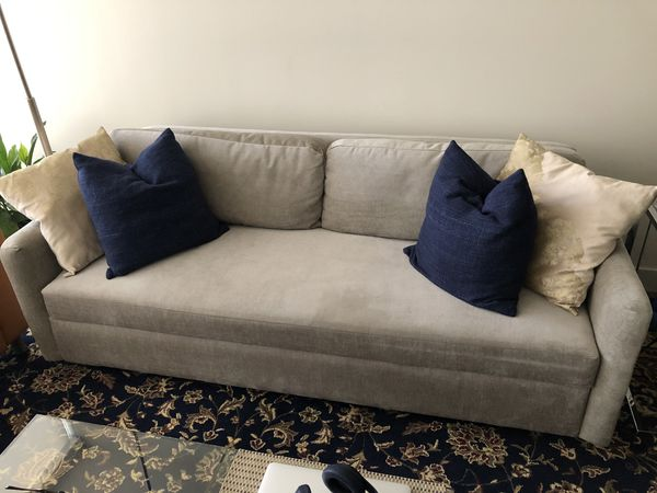 Sensational West Elm Clara Sleeper Sofa For Sale In San Diego Ca Offerup Pdpeps Interior Chair Design Pdpepsorg
