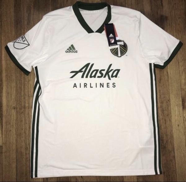 low priced 3a8e7 12055 Portland Timbers 2018 Adidas Soccer Jersey Men's Large Brand New for Sale  in Portland, OR - OfferUp