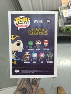 Ashe League Of Legends Funko Pop! Thumbnail