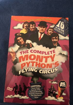 The complete Monty Python s flying circus Contains hey Bree single episode of the groundbreaking comedy for Sale in Fort Belvoir, VA