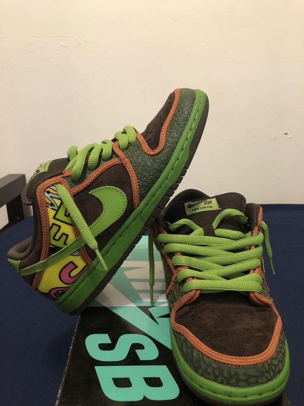 "sale retailer 6c314 24a25 Nike Dunk sb low ""De La Soul"" size 7.5 for Sale in New York, NY - OfferUp"