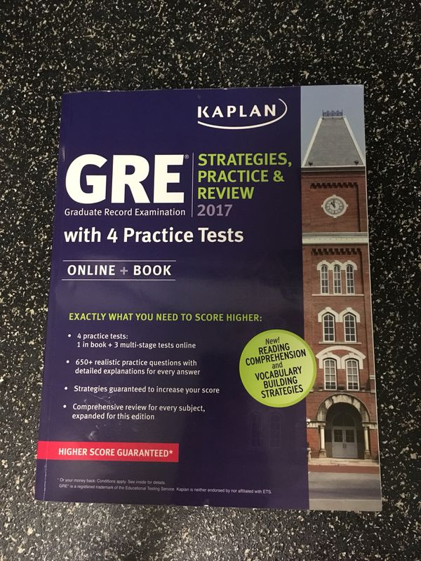 GRE Study Book and Flashcards for Sale in Cary, NC - OfferUp