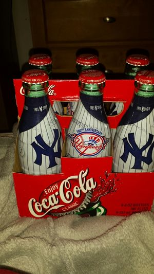 100th Anniversary NY Yankees Coca Cola Bottles for Sale in Fairfax, VA