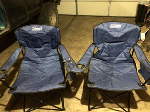 Camp chairs with side coolers for Sale in Hillsboro, OR