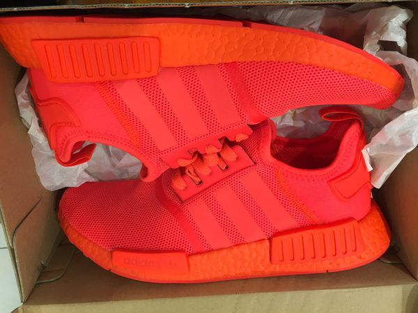 huge discount 39b3b e3f8c New adidas NMD R1 triple red solar red men size 9 for Sale in West Covina,  CA - OfferUp