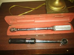 Snap on torque wrench 10-125 ft/lb for Sale in Mount Dora, FL