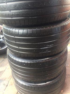 Pirelli all season set of 4 tires 255 40 19 for Sale in Manassas, VA