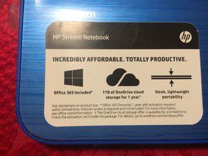 Hp stream notebook for Sale in Nashville, TN