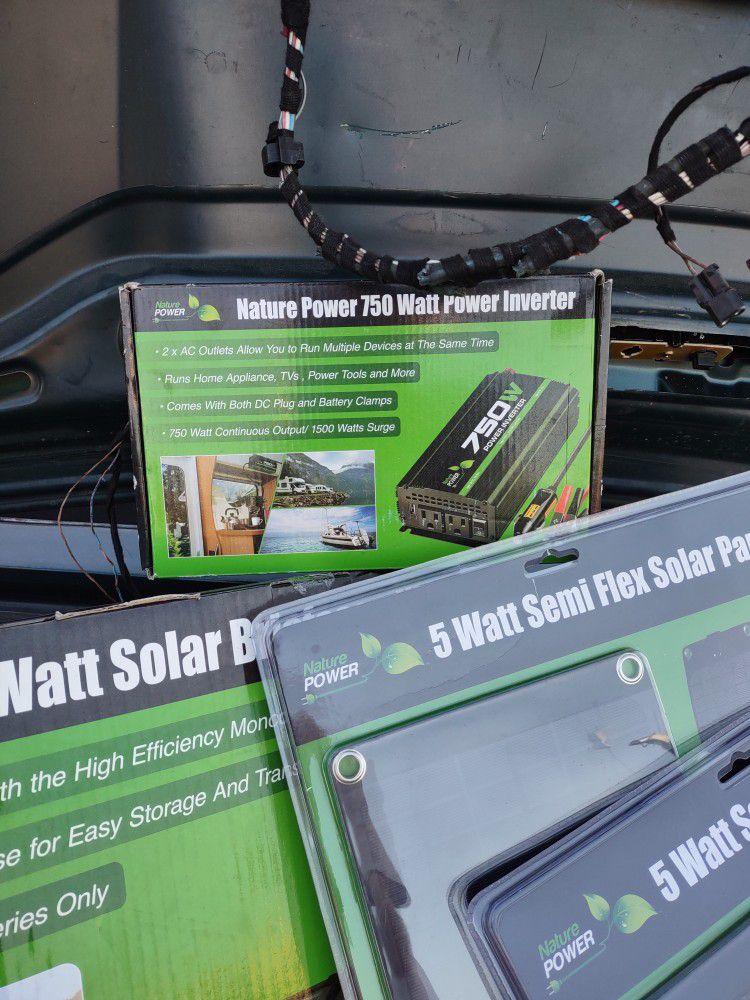Nature Power Solar Panels/Accessories