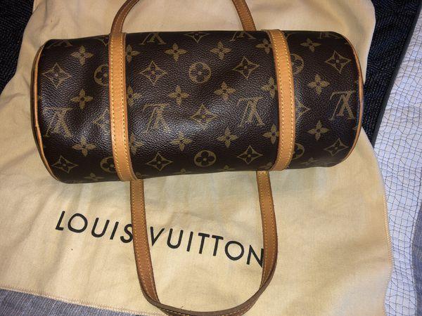 Vintage papillon monogram Louis Vuitton    authentic   with dust bag ... 66c0bf30e5aa5