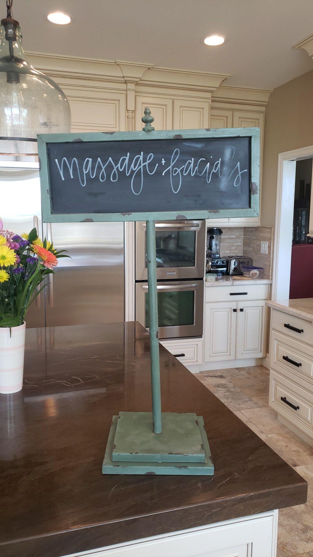 Free Standing Chalk Board / Menu Board / Sign