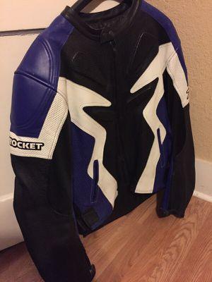 Joe Rocket Men's Leather Jacket Size L for Sale in Tampa, FL