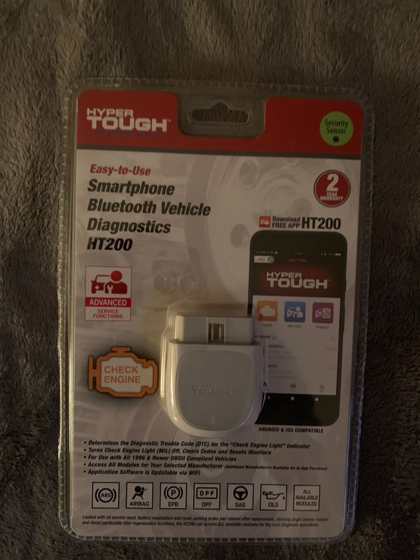 BLUETOOTH OBD2 ADAPTER FROM HYPER TOUGH for Sale in Los Angeles, CA -  OfferUp