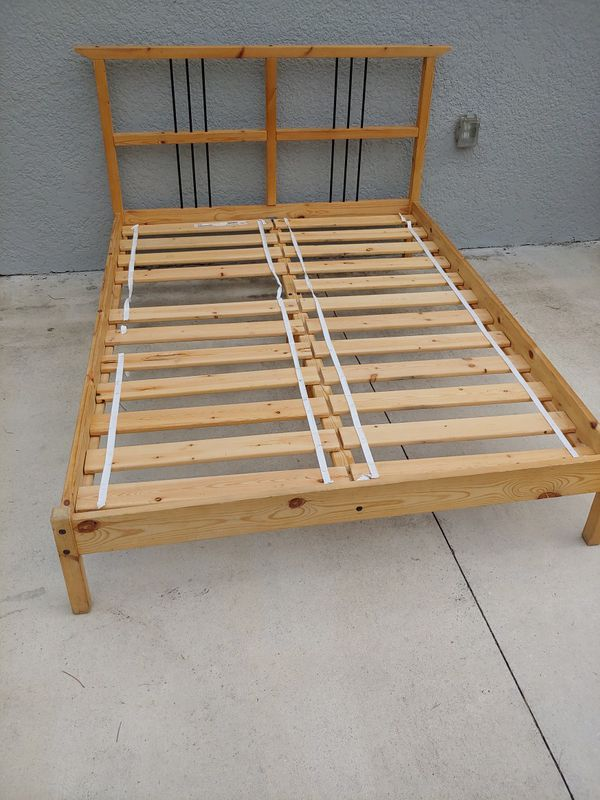 Full Size Bed Frame For Sale In Naples Fl Offerup