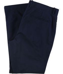 Alfani Mens Side Striped Dress Pants Slacks, Blue, 40W x 30L Thumbnail