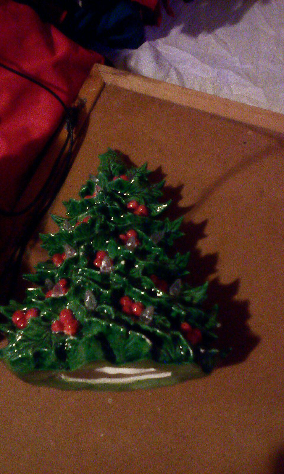 Christmas glass tree