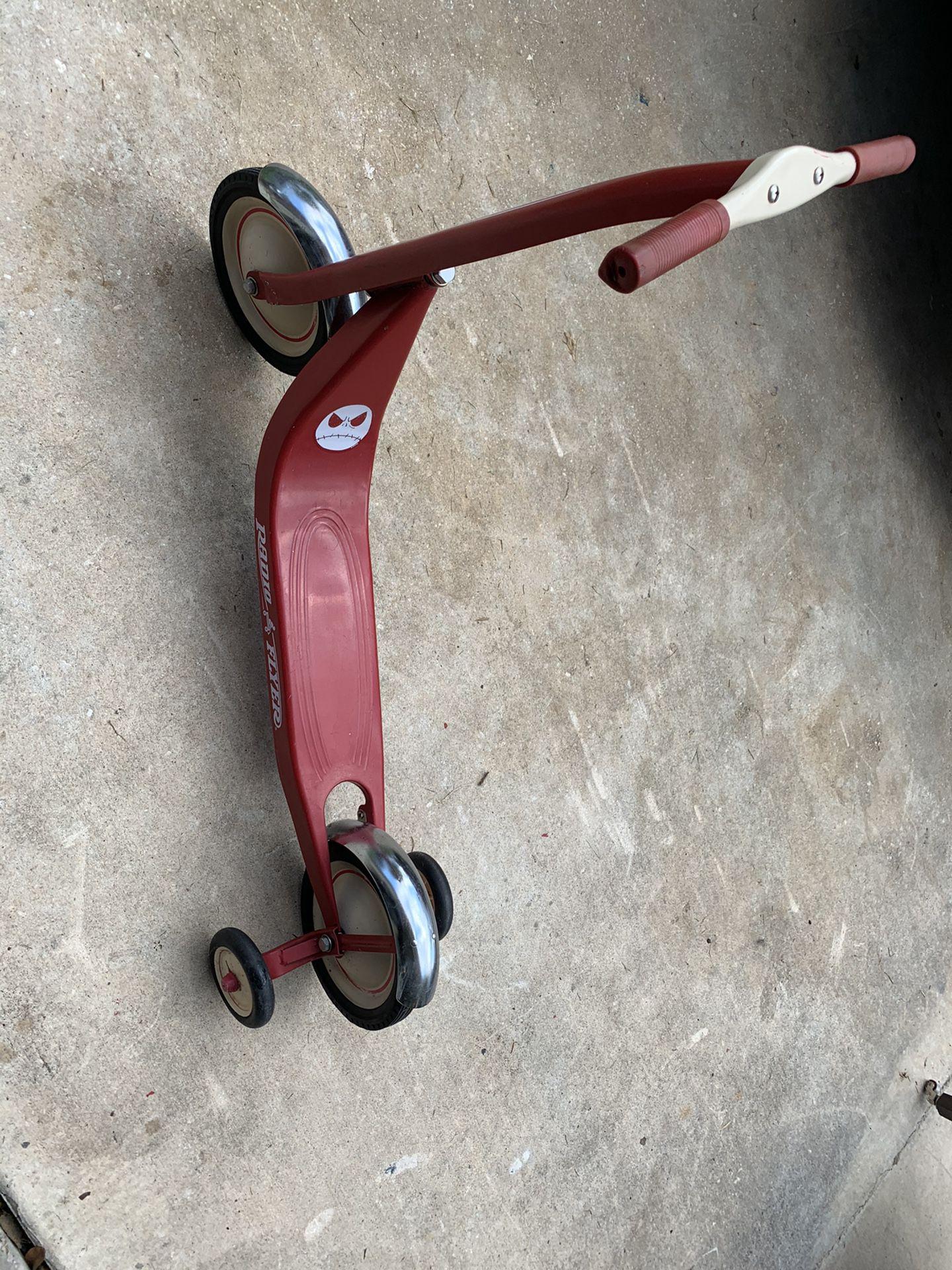 Vintage Radio Flyer Scooter