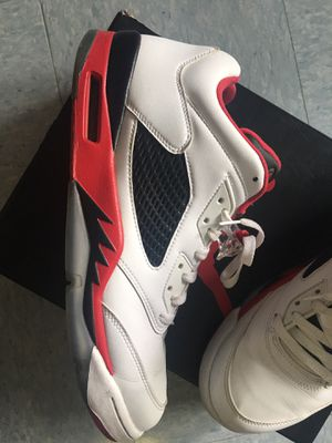 Fire red retro 5 for Sale in Washington, DC