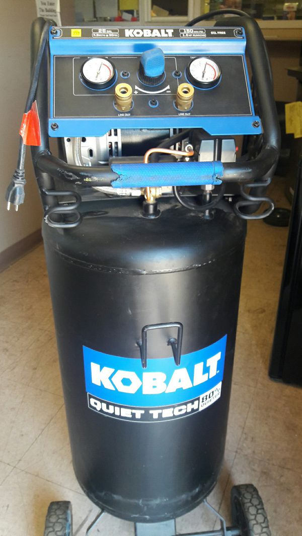 Car Dealerships In Tulsa Ok >> 26 gallons Air Compressor kobalt quiet tech for Sale in ...