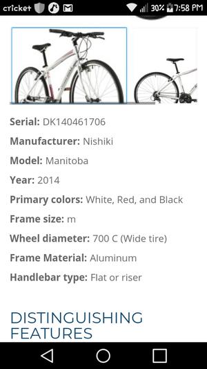 Nishiki bike with custom rims for Sale in Milpitas, CA