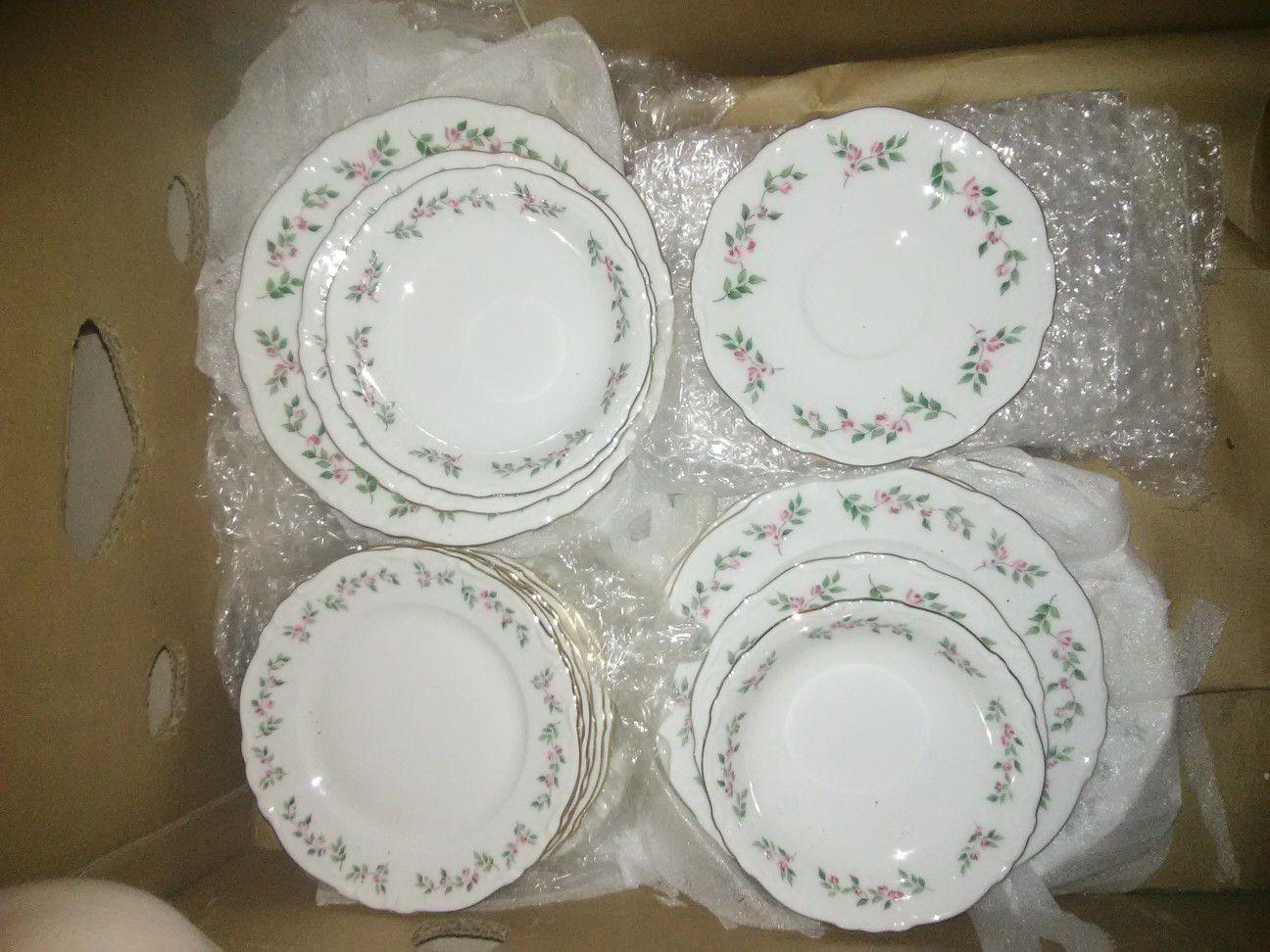 Crown Bavarian china