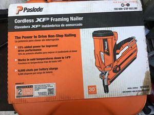 Paslode cordless nail gun for Sale in Tacoma, WA