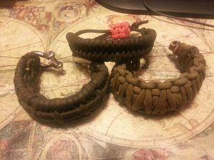 Paracord survival Bracelets for Sale in Gaithersburg, MD