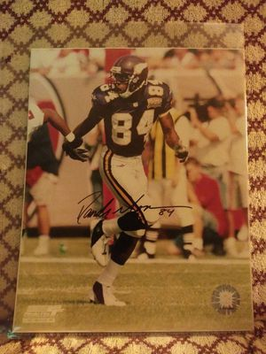 Randy Moss autograph 8×10 photo with COA for Sale in Bailey's Crossroads, VA