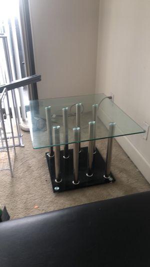 Small glass coffee table for Sale in Lincolnia, VA
