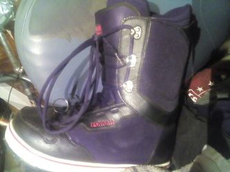 Men's adults size 13 for inconstant snowboard boots Thumbnail