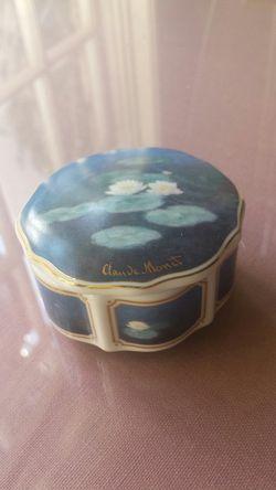Goebel Collectible Monet jar Thumbnail