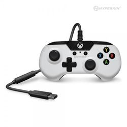 X91 Wired Controller for Xbox One/ Windows 10 (White) - Hyperkin Thumbnail