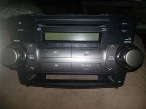 Toyota Highlander 2009 Radio/CD for Sale in Morton Grove, IL