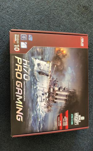 H170 motherboard pro gaming for Sale in Brentwood, MD