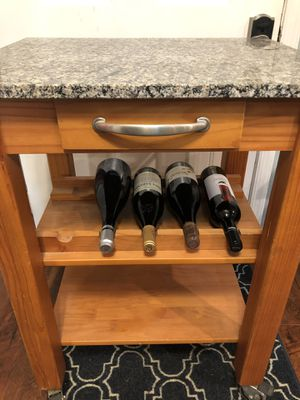 Granite topped kitchen/bar island for Sale in Centreville, VA