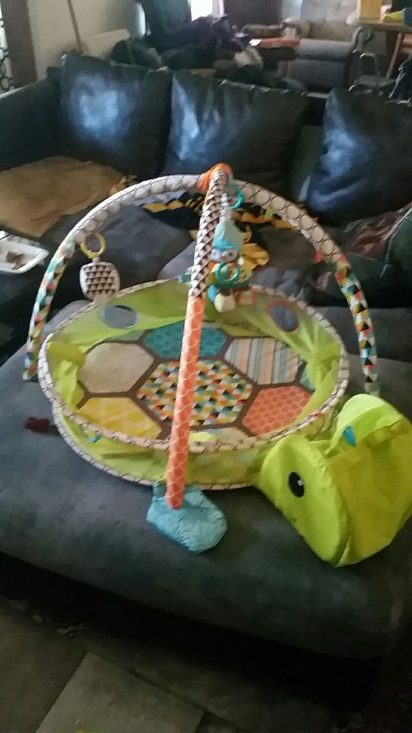 Turtle Playpen Type Deal For The Baby To Lay On For Sale In