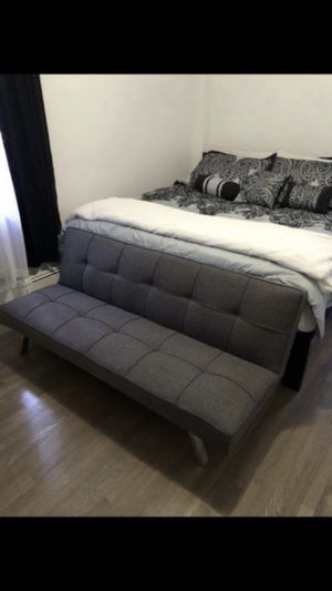 Grey sofa bed for Sale in Saugus, MA