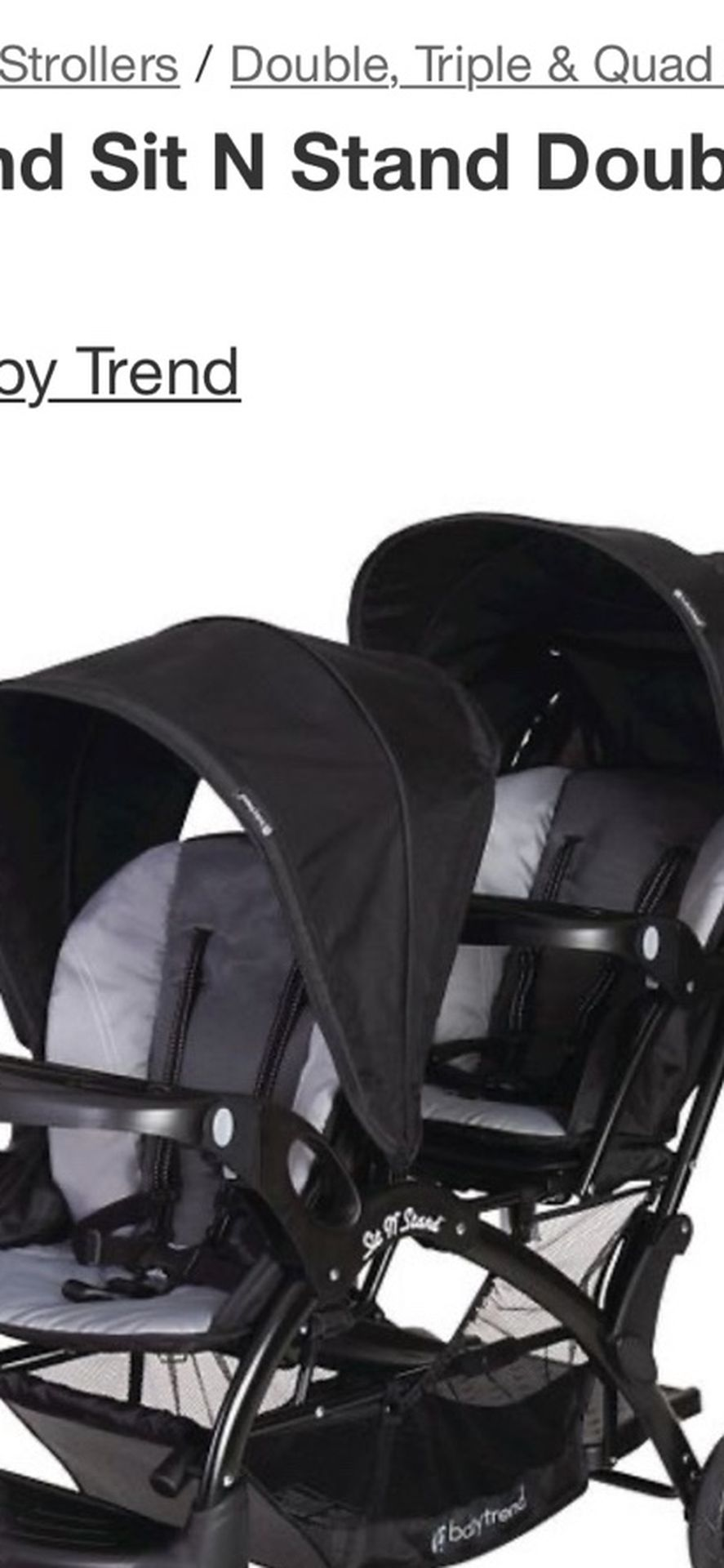 Same Exact Stroller I Have For Sell .
