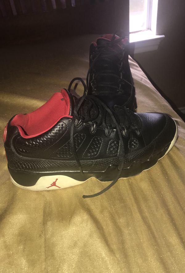 6e9623d528b0 Jordans low top 9s for Sale in Duncanville